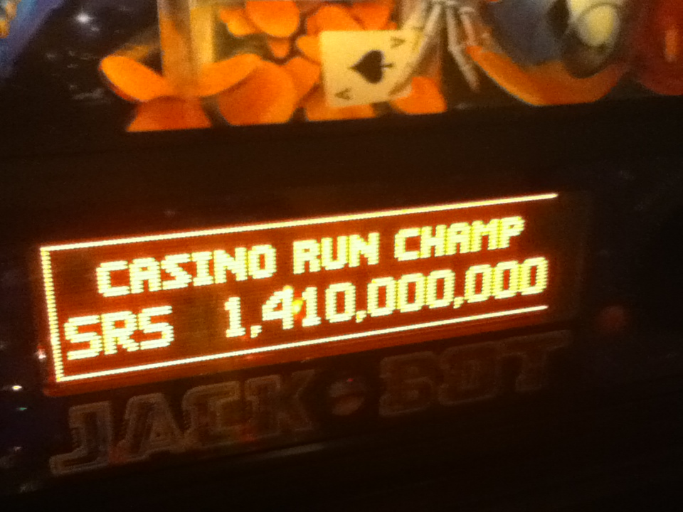 Jack*Bot: Casino Run 1,410,000,000 points