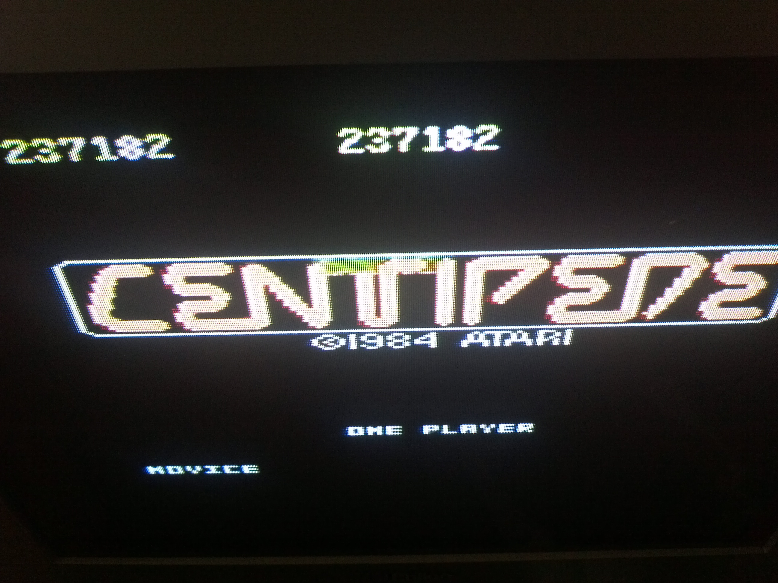 Centipede: Novice 237,182 points