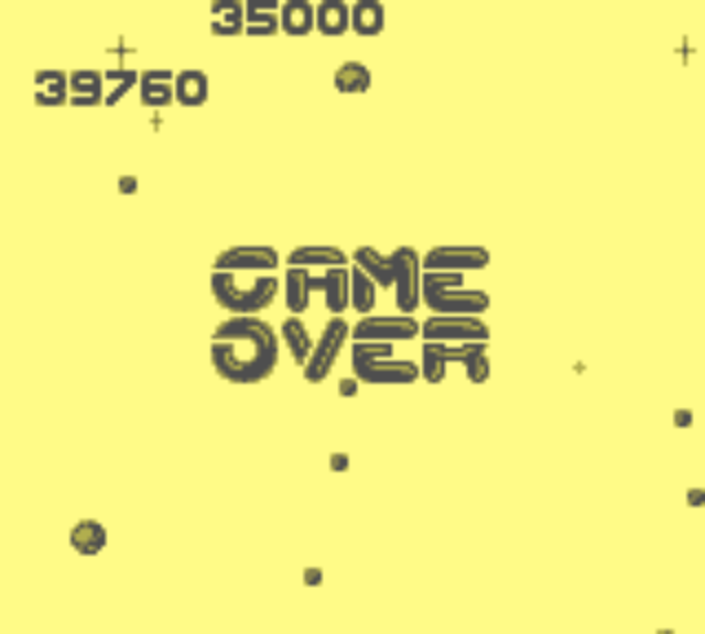 Asteroids 39,760 points