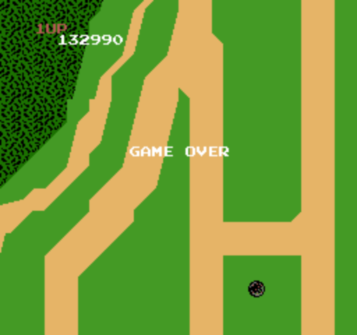 Xevious 132,990 points