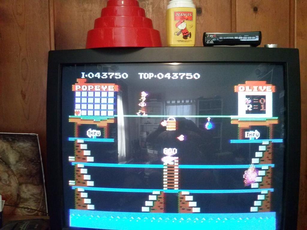nester: Popeye (NES/Famicom) 43,750 points on 2014-03-03 15:01:14
