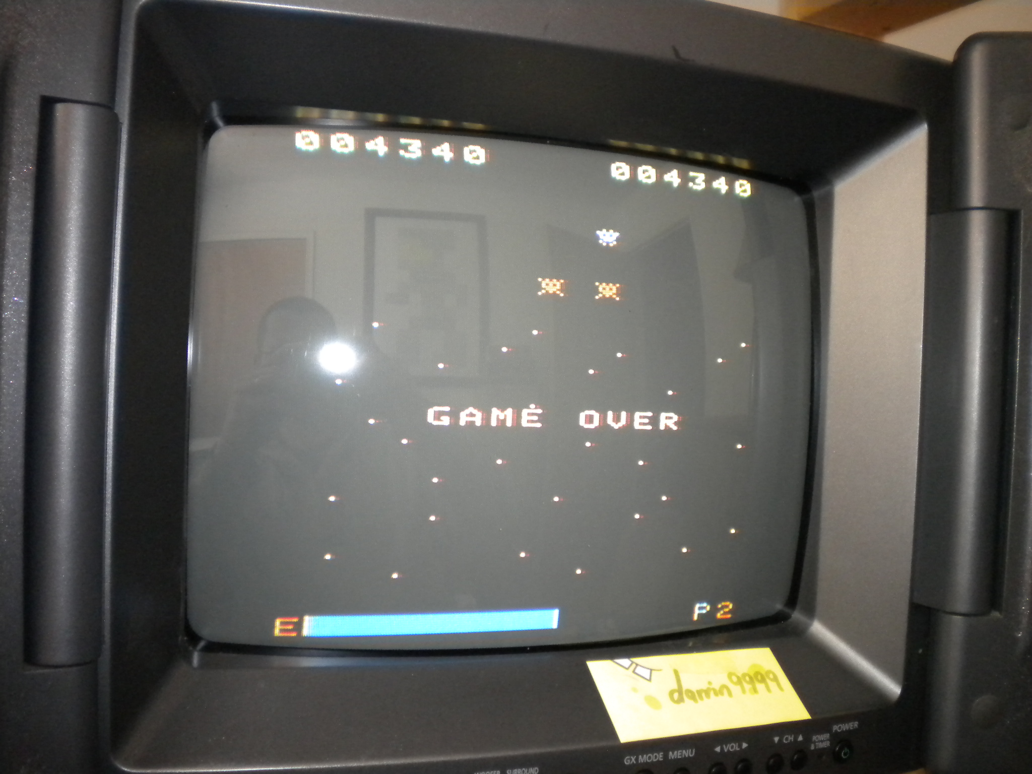 Space Attack 4,300 points