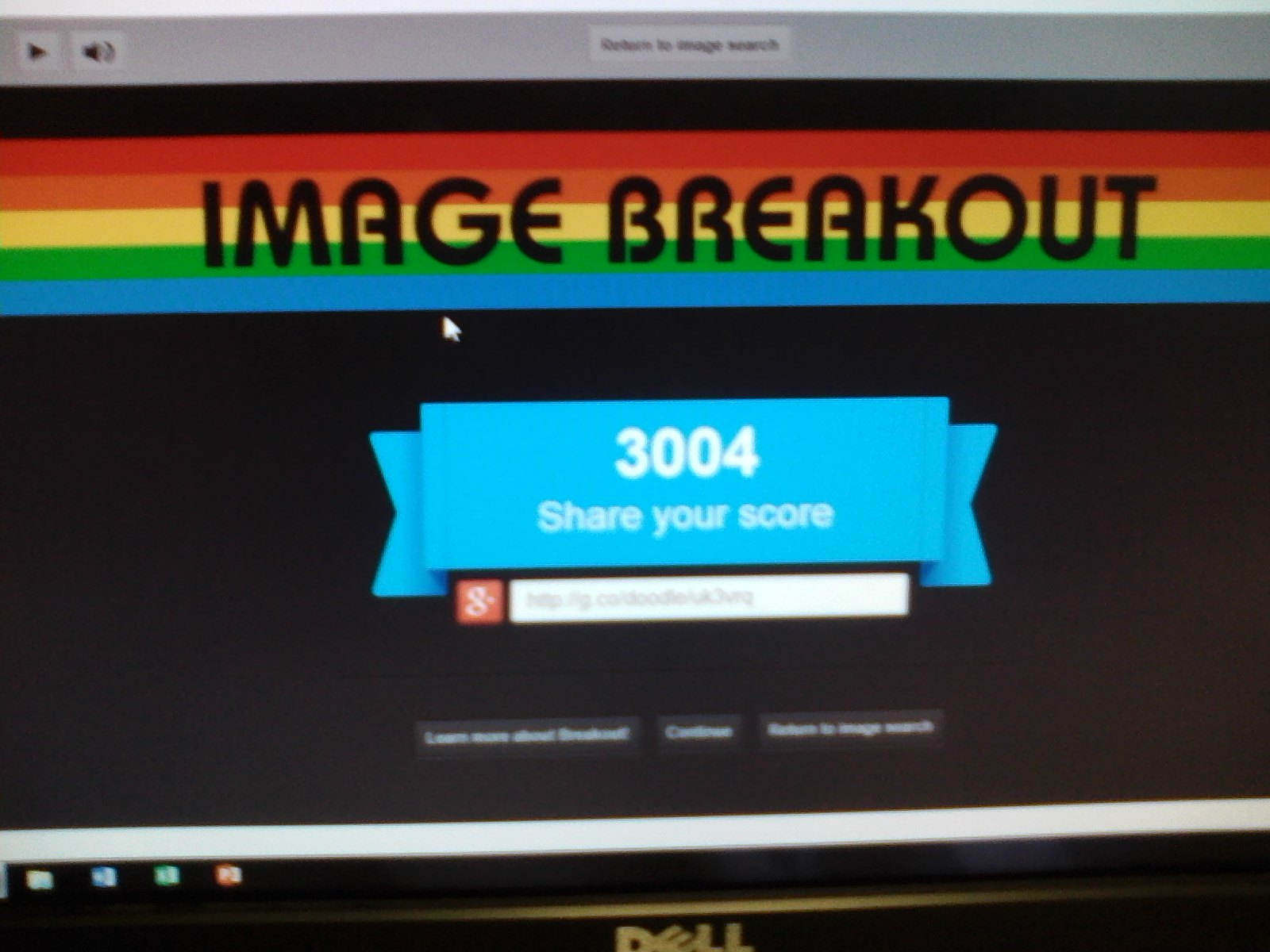 StruckByTheSword: Google Image Breakout (Web) 3,004 points on 2014-03-06 14:52:00