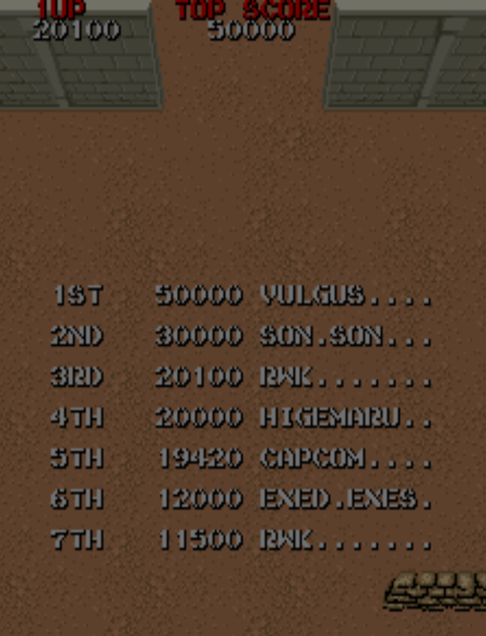 Commando 20,100 points