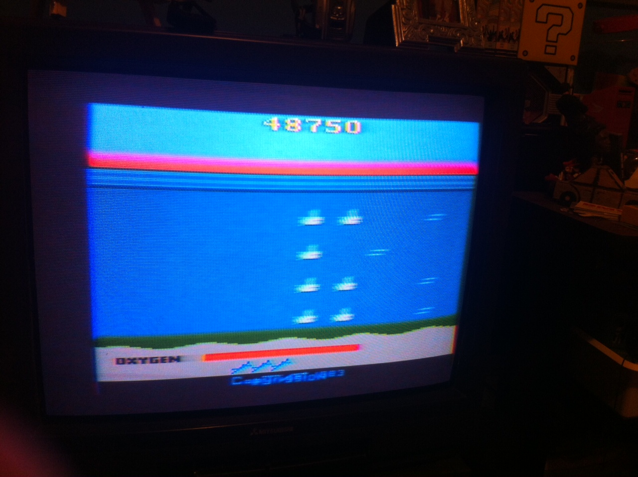 MarcoLaGrotta: Seaquest (Atari 2600 Novice/B) 48,750 points on 2014-03-08 21:00:46