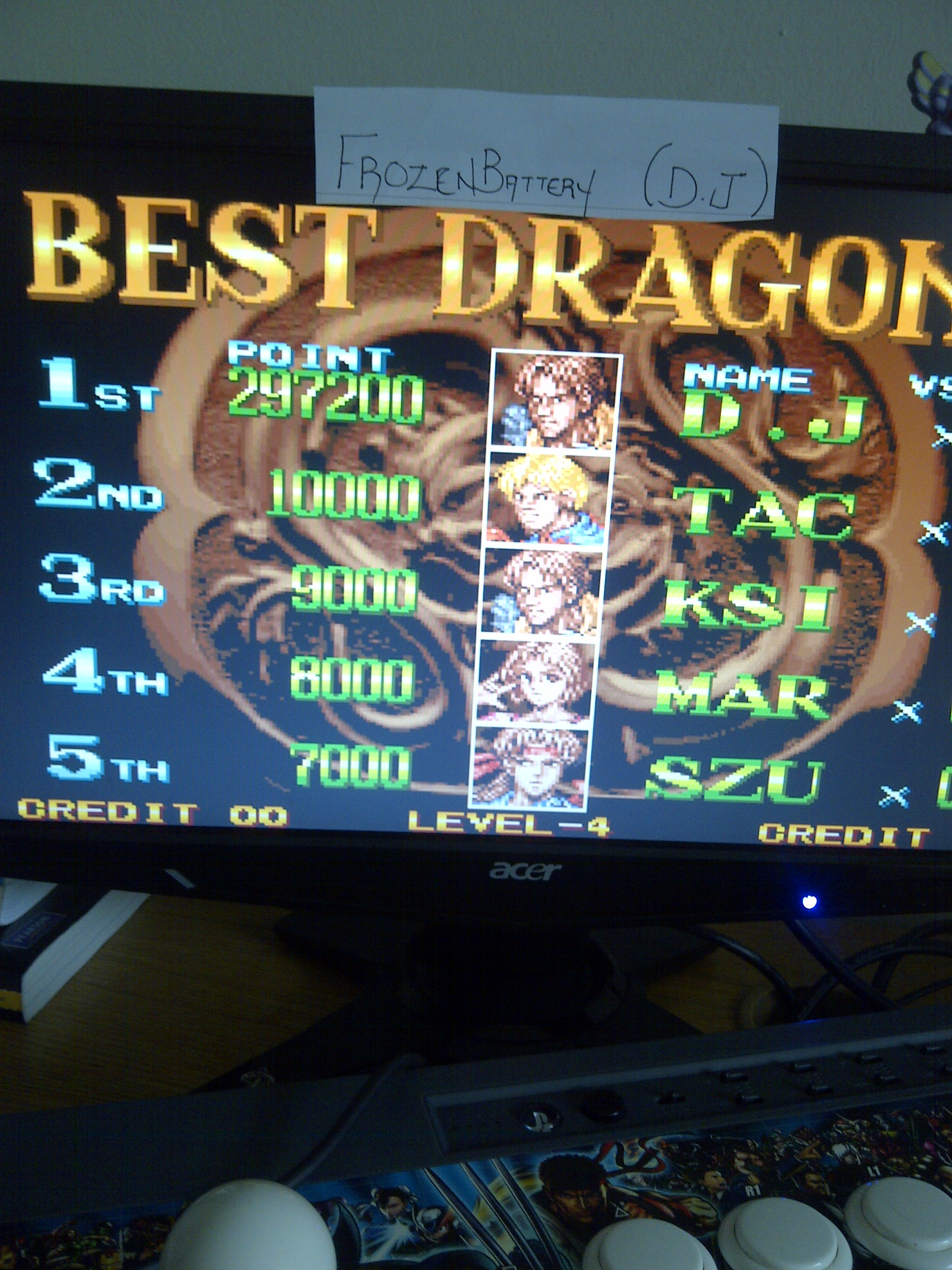 Double Dragon 297,200 points