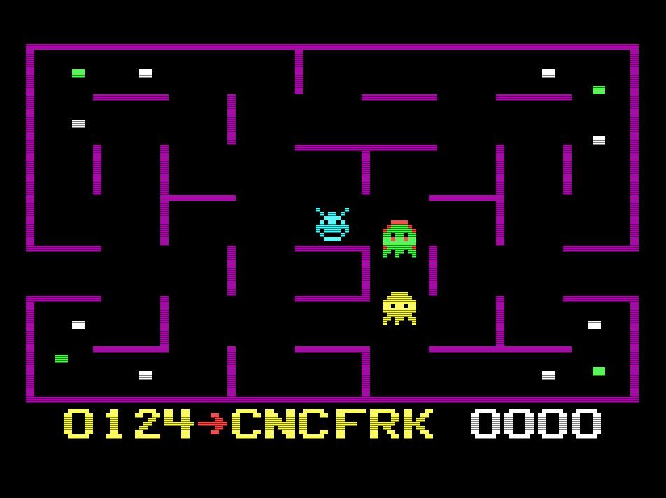 KC Munchkin [Any Standard Maze] 124 points