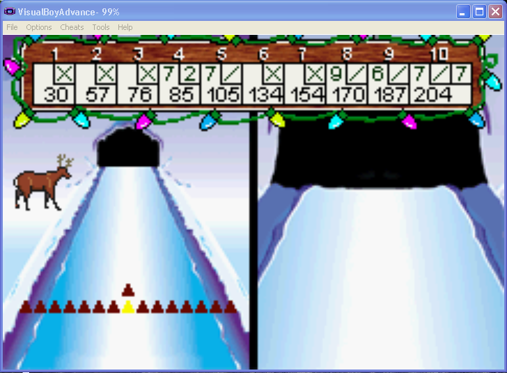 arenafoot: Elf Bowling (GBA Emulated) 204 points on 2014-03-10 14:34:27