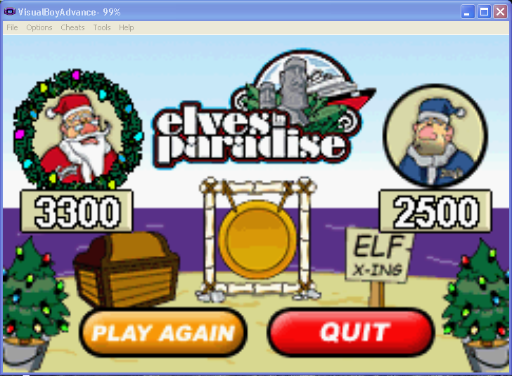 arenafoot: Elf Bowling 2 (GBA Emulated) 3,300 points on 2014-03-10 14:35:58