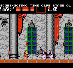 Castlevania 203,300 points