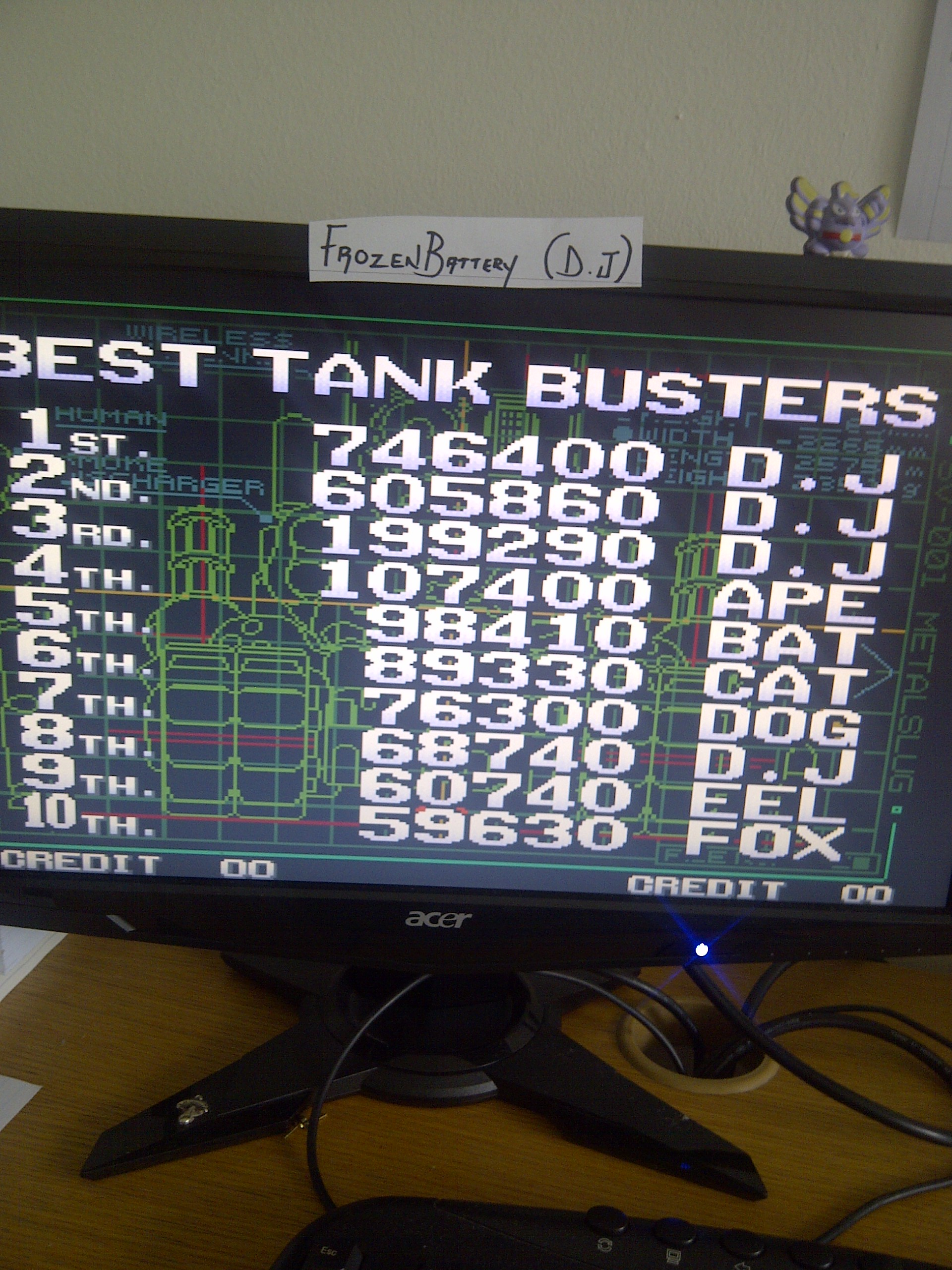 Metal Slug 3 746,400 points