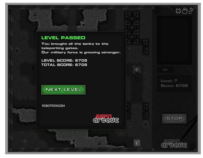 Robotron2084: Mindfields 3: Level 7 (Web) 6,705 points on 2014-03-11 23:07:15