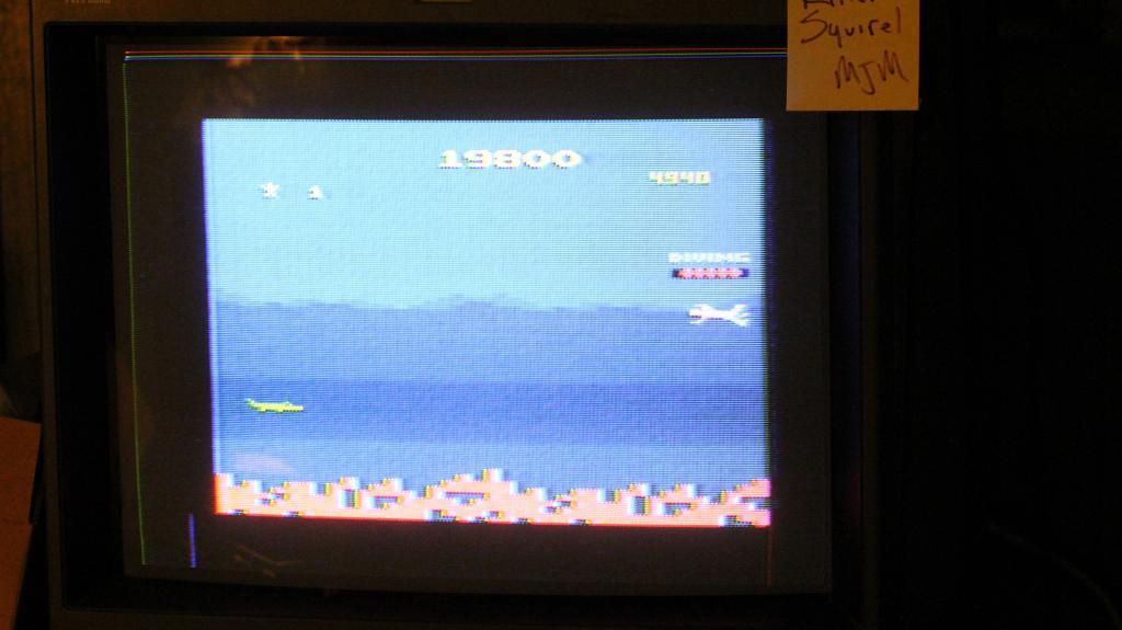 killersquirel: Jungle Hunt (Atari 2600) 19,800 points on 2013-09-22 05:02:14