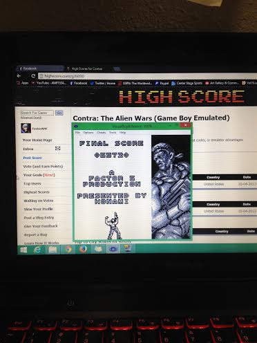 Contra: The Alien Wars 69,720 points