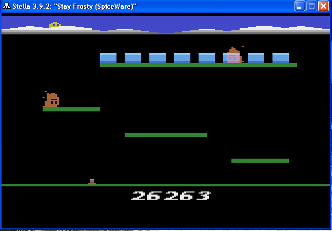 arenafoot: Stay Frosty (Atari 2600 Emulated) 26,263 points on 2014-03-13 20:13:36