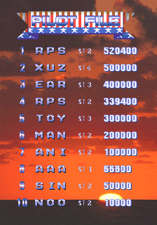 RichyS: 1943k III (Arcade Emulated / M.A.M.E.) 520,400 points on 2014-03-14 18:22:51