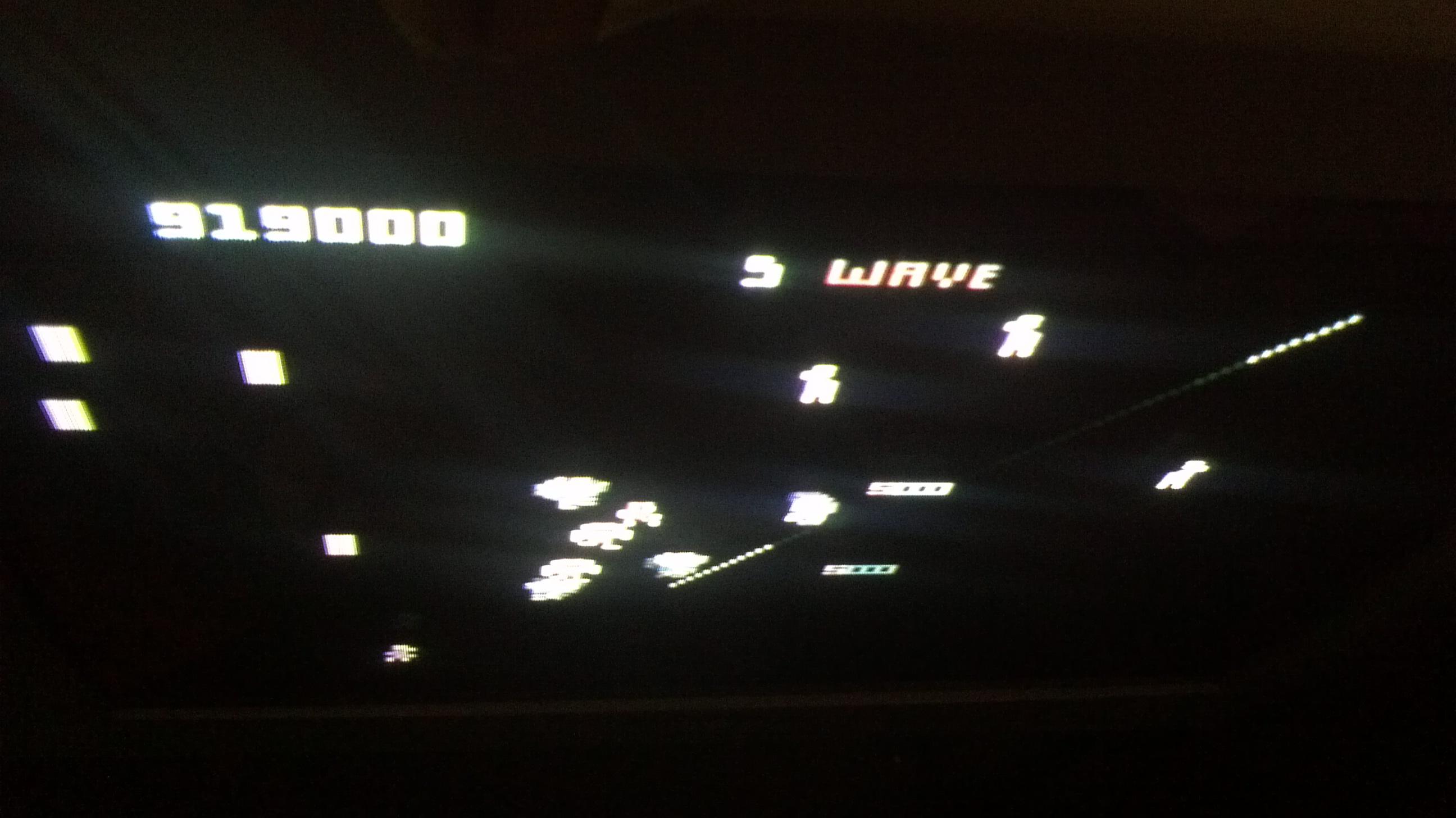 Liduario: Robotron 2084: Novice (Atari 7800) 919,000 points on 2014-03-15 16:25:26