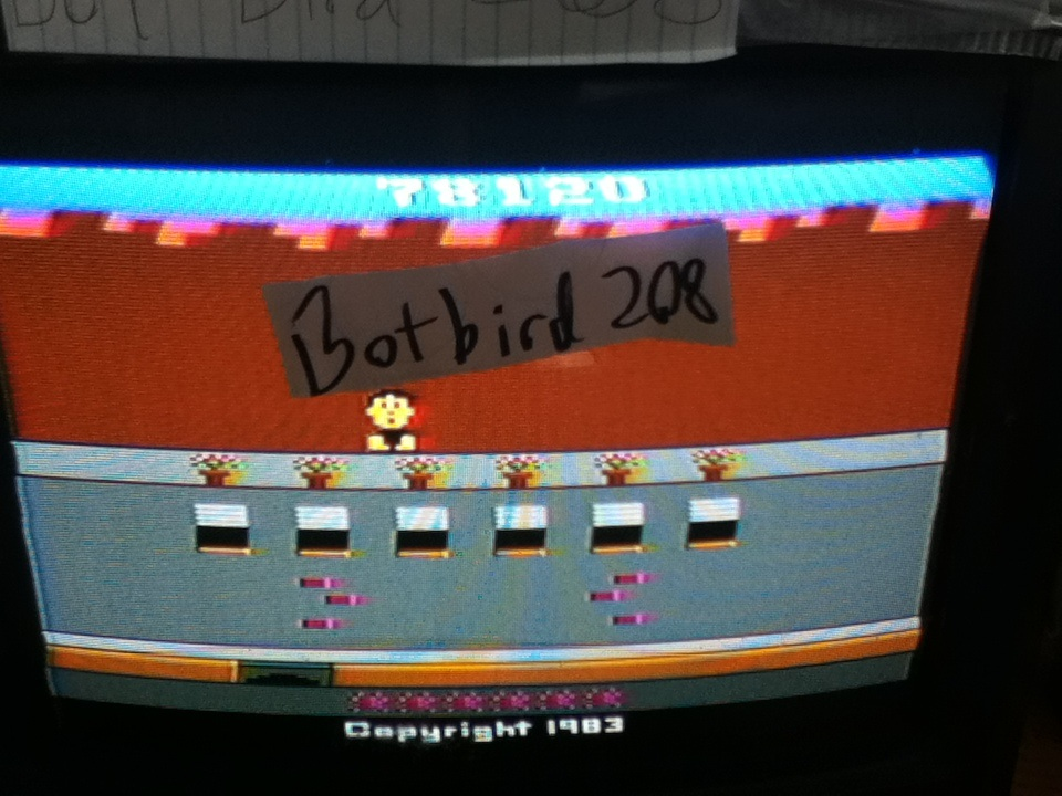 Botbird208: Crackpots (Atari 2600) 78,120 points on 2014-03-15 19:27:53