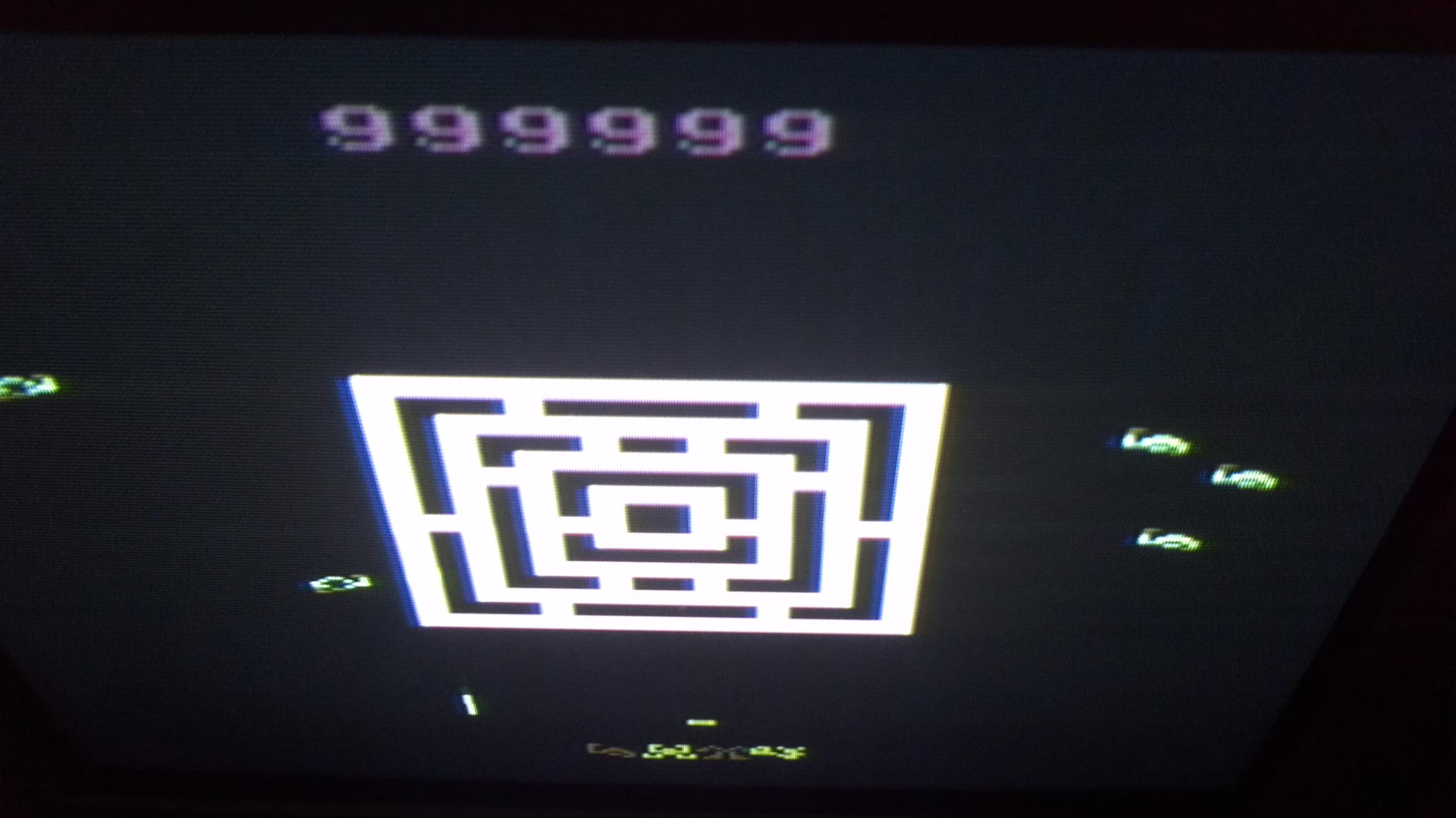Liduario: Wall Defender (Atari 2600 Novice/B) 999,999 points on 2014-03-16 17:33:01