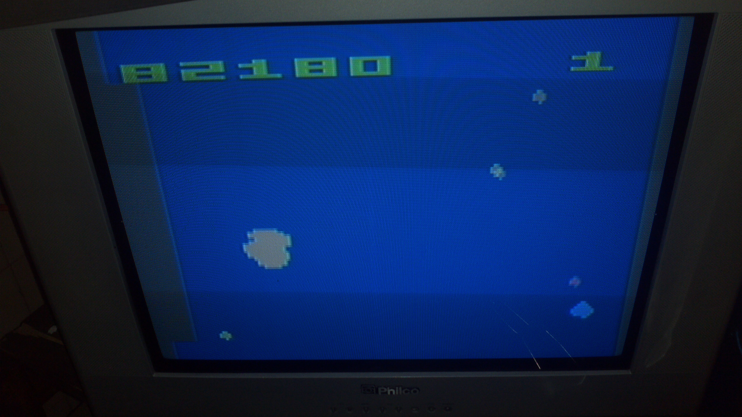 Asteroids: Game 16 82,180 points