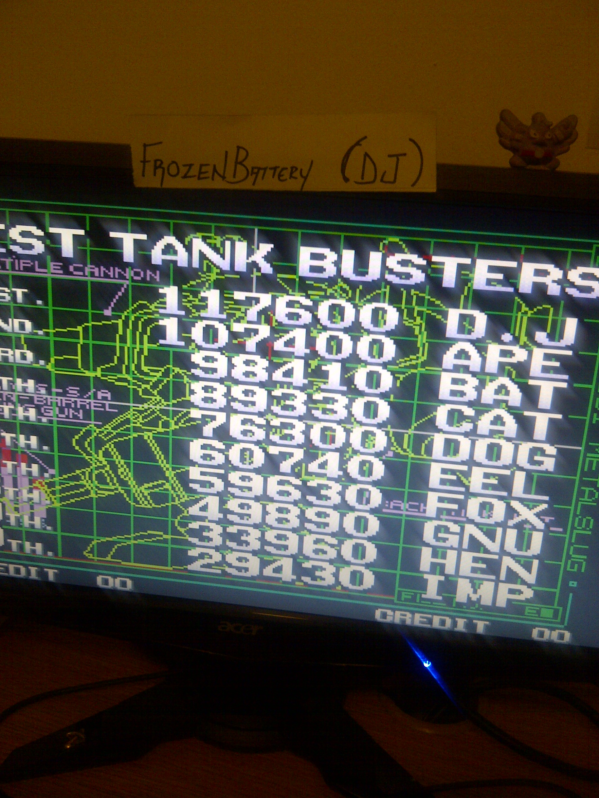 Metal Slug 5 117,600 points