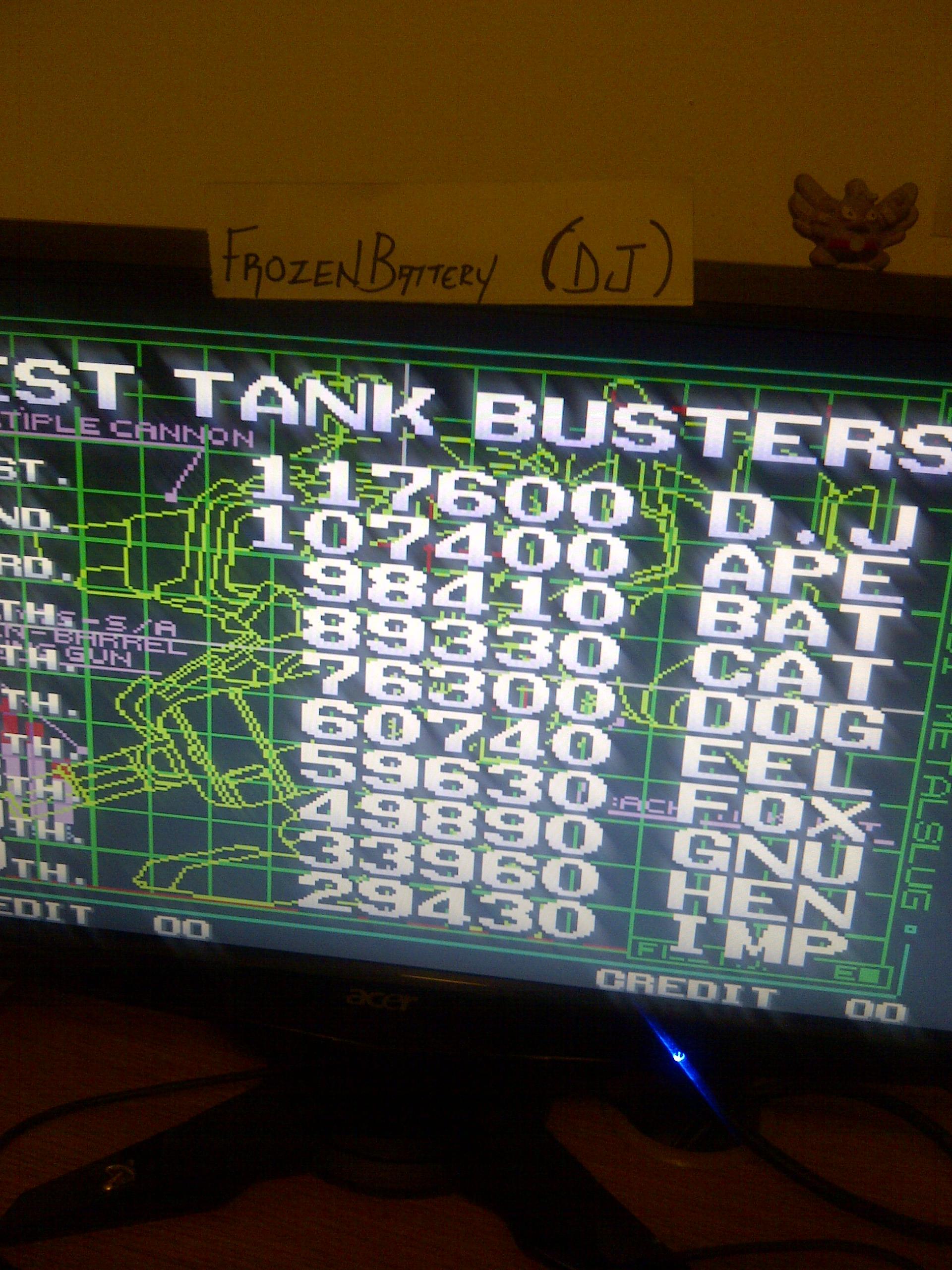 Metal Slug 5 117,600 points