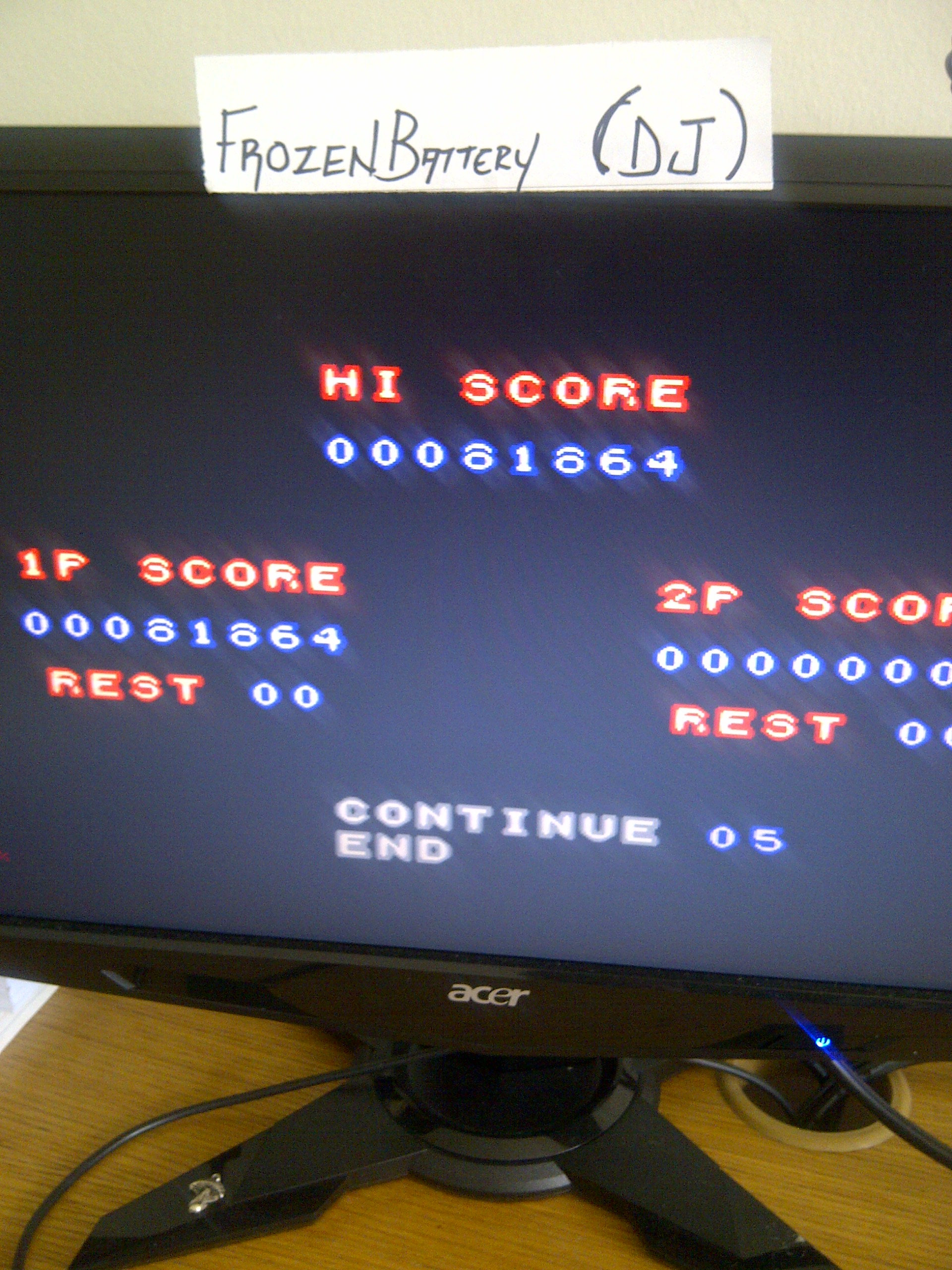 Contra Advance: The Alien Wars EX 81,864 points