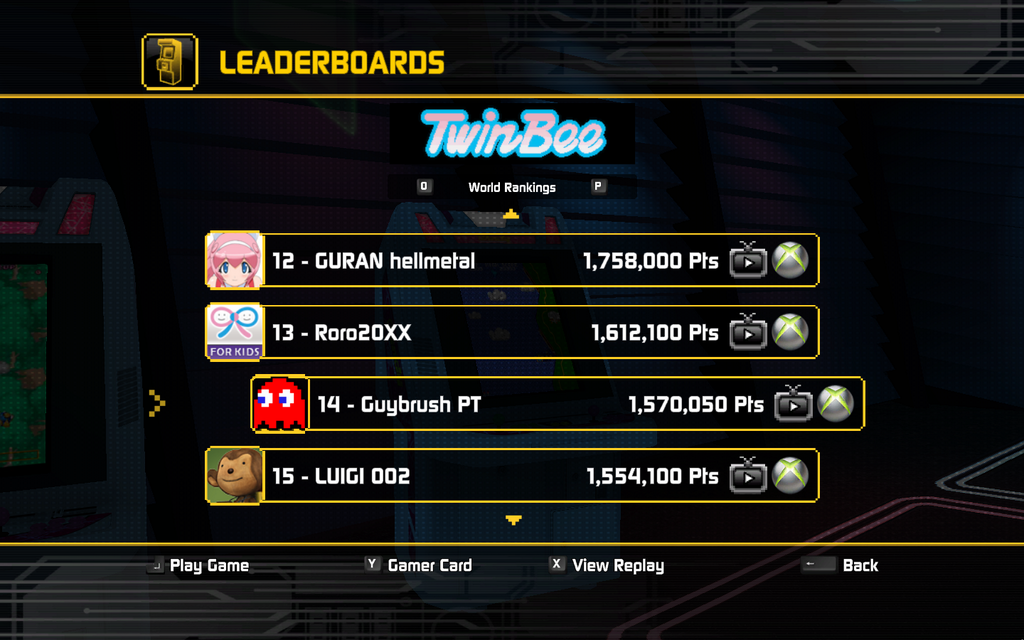 TwinBee 1,570,050 points