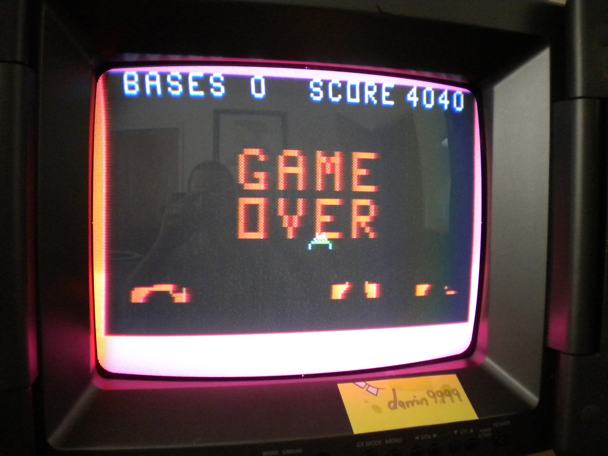 Astro Battle 4,040 points