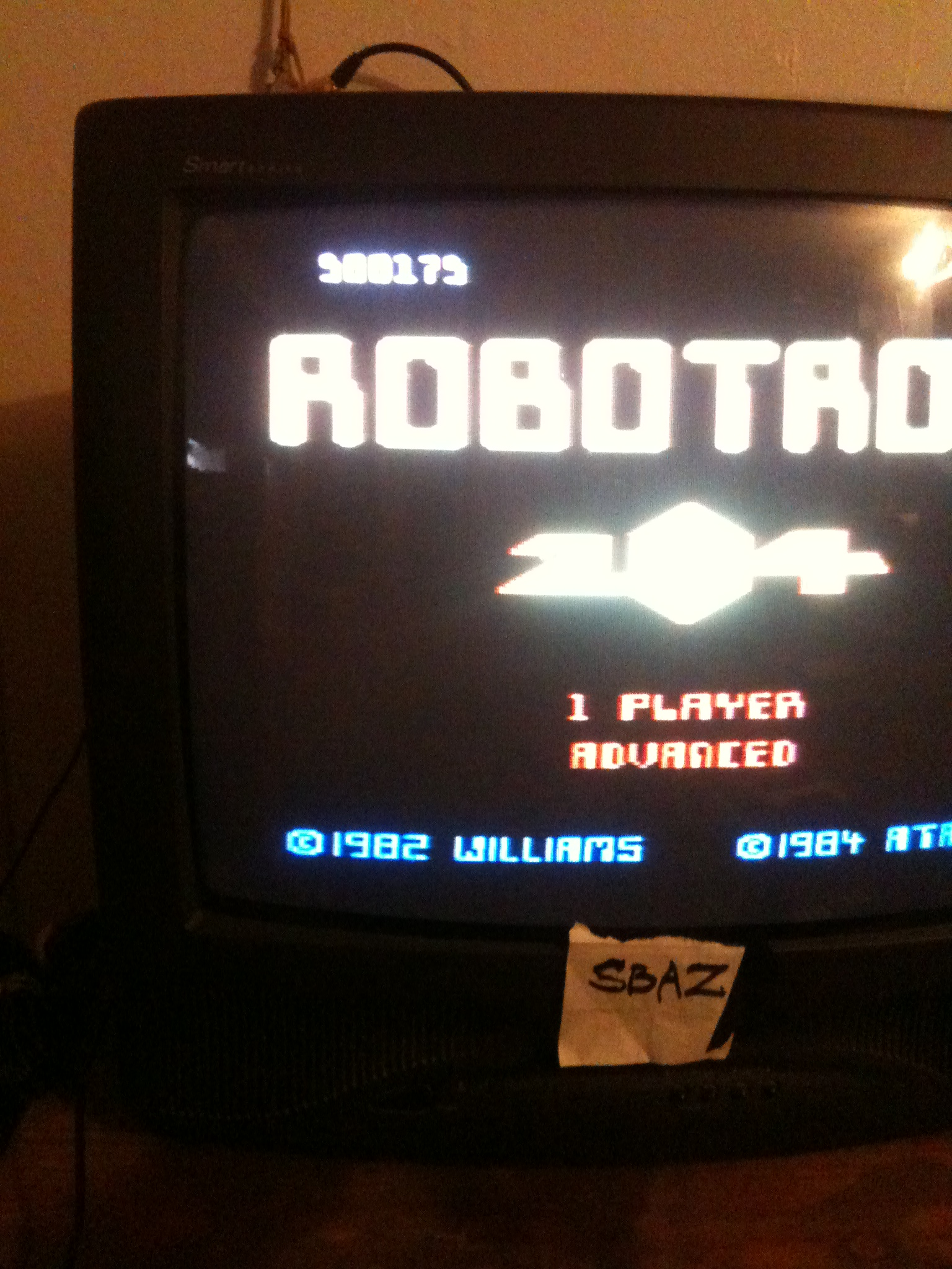 Robotron 2084: Advanced 500,175 points