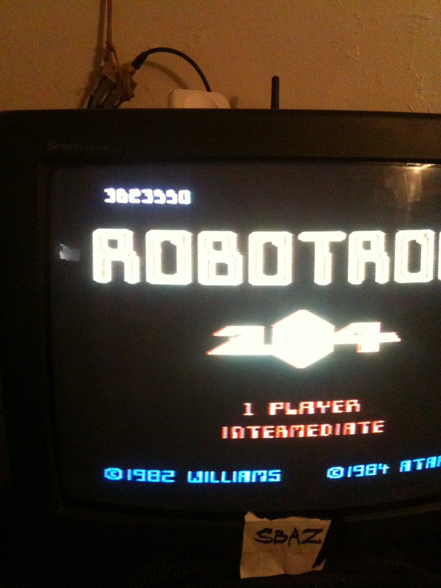 Robotron 2084: Intermediate 3,623,550 points