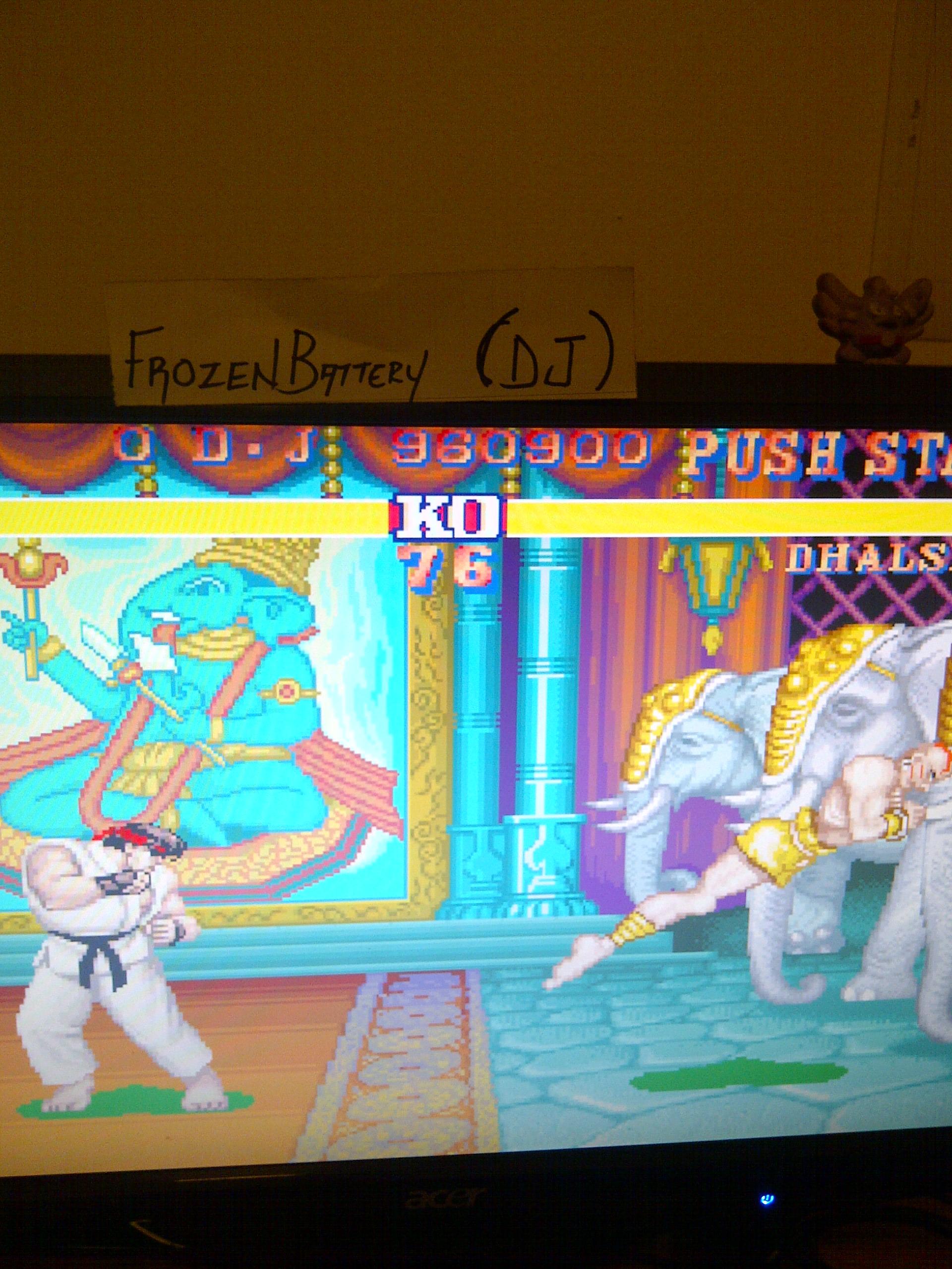 Street Fighter II 960,900 points