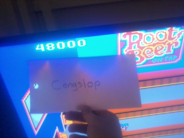 Congslop: Root Beer Tapper (Arcade Emulated / M.A.M.E.) 48,000 points on 2014-03-23 15:53:37