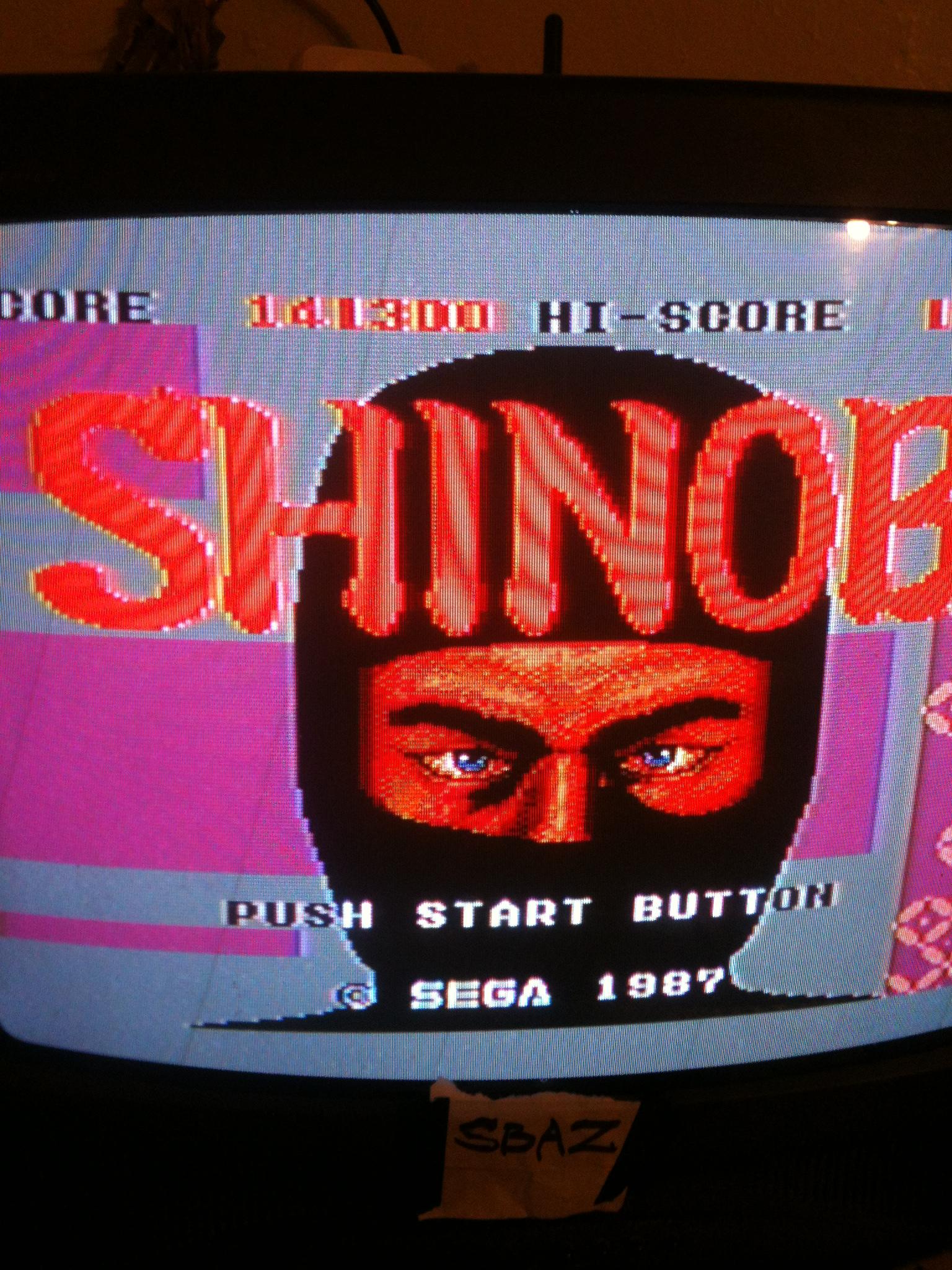 Shinobi 141,300 points