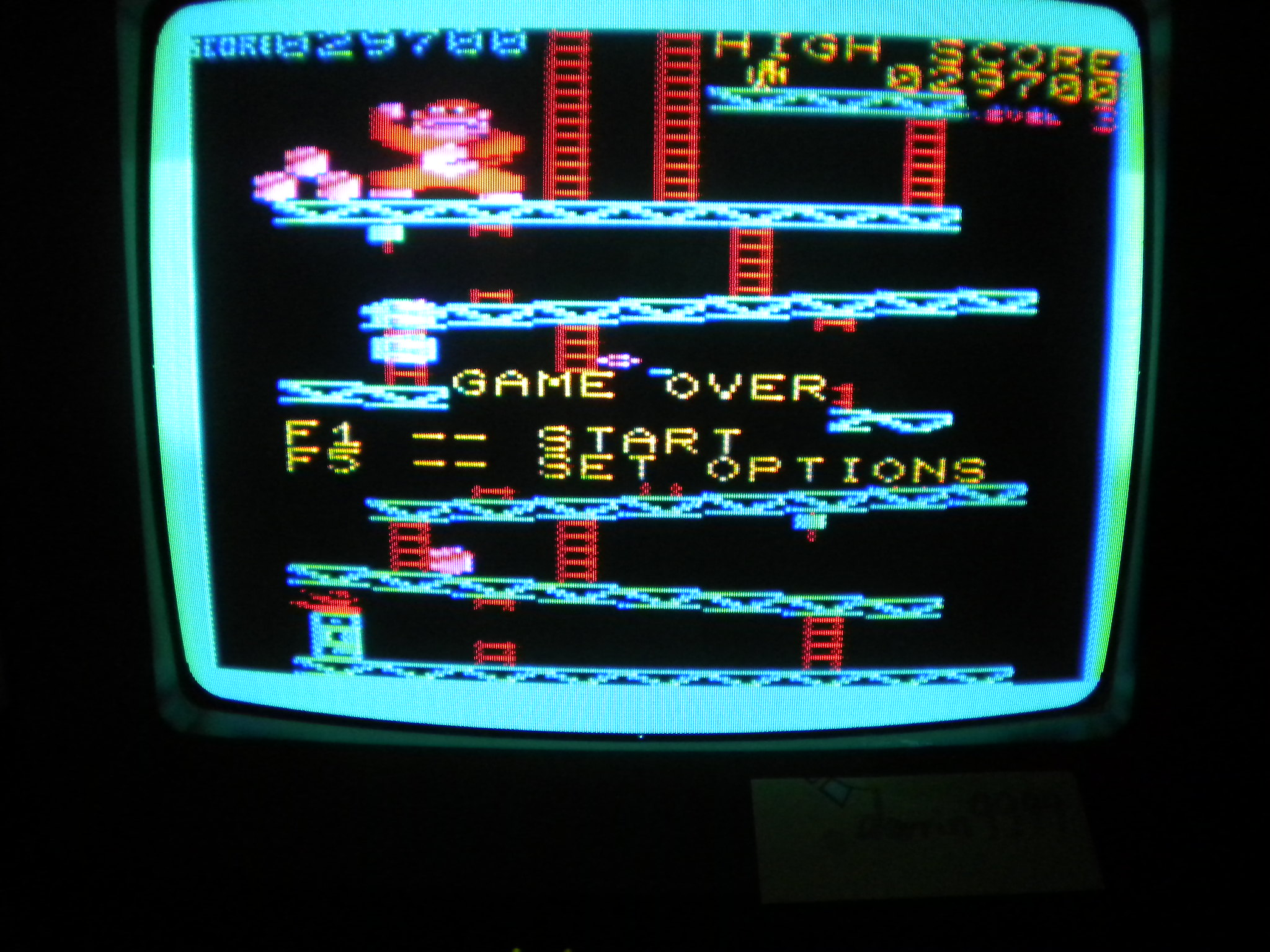 Donkey Kong 29,700 points