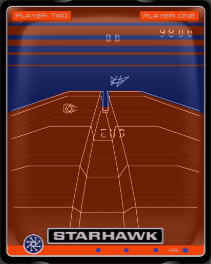 Star Hawk 9,800 points
