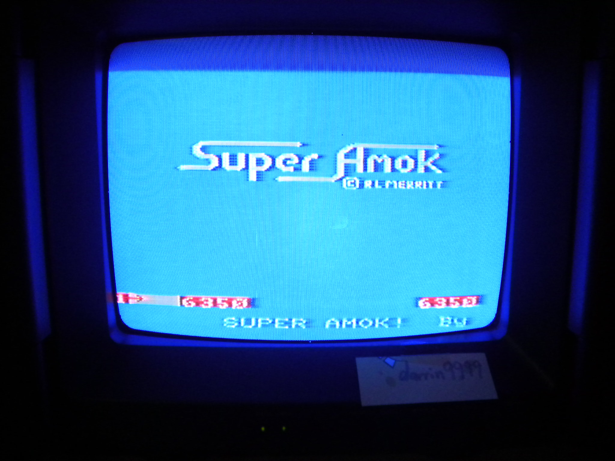 Super Amok 6,350 points