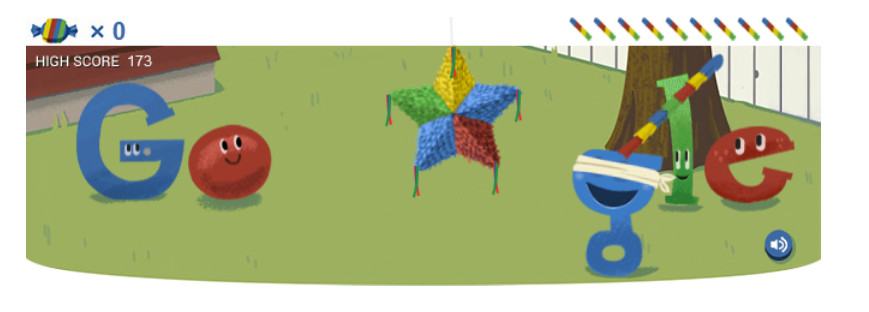 Google 15th Birthday Doodle 173 points