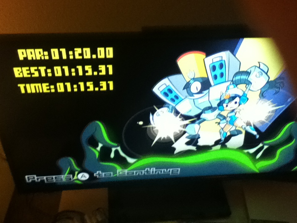 Mighty Switch Force HD: Incident 1 [Speed Run] time of 0:01:15.31