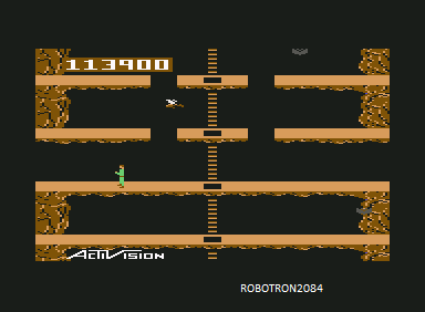 Pitfall II: Lost Caverns 113,900 points