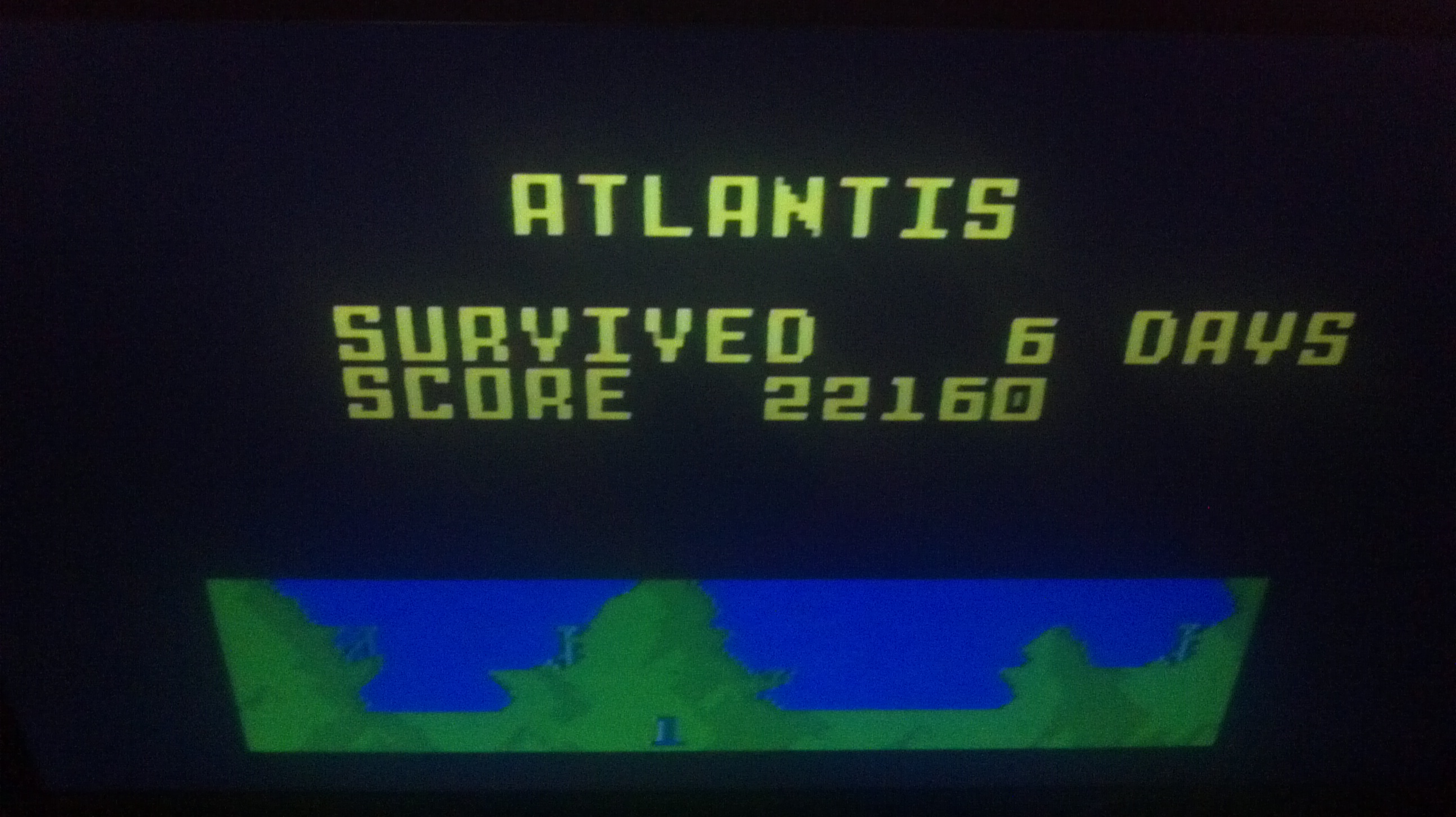 Atlantis: Easy 22,160 points