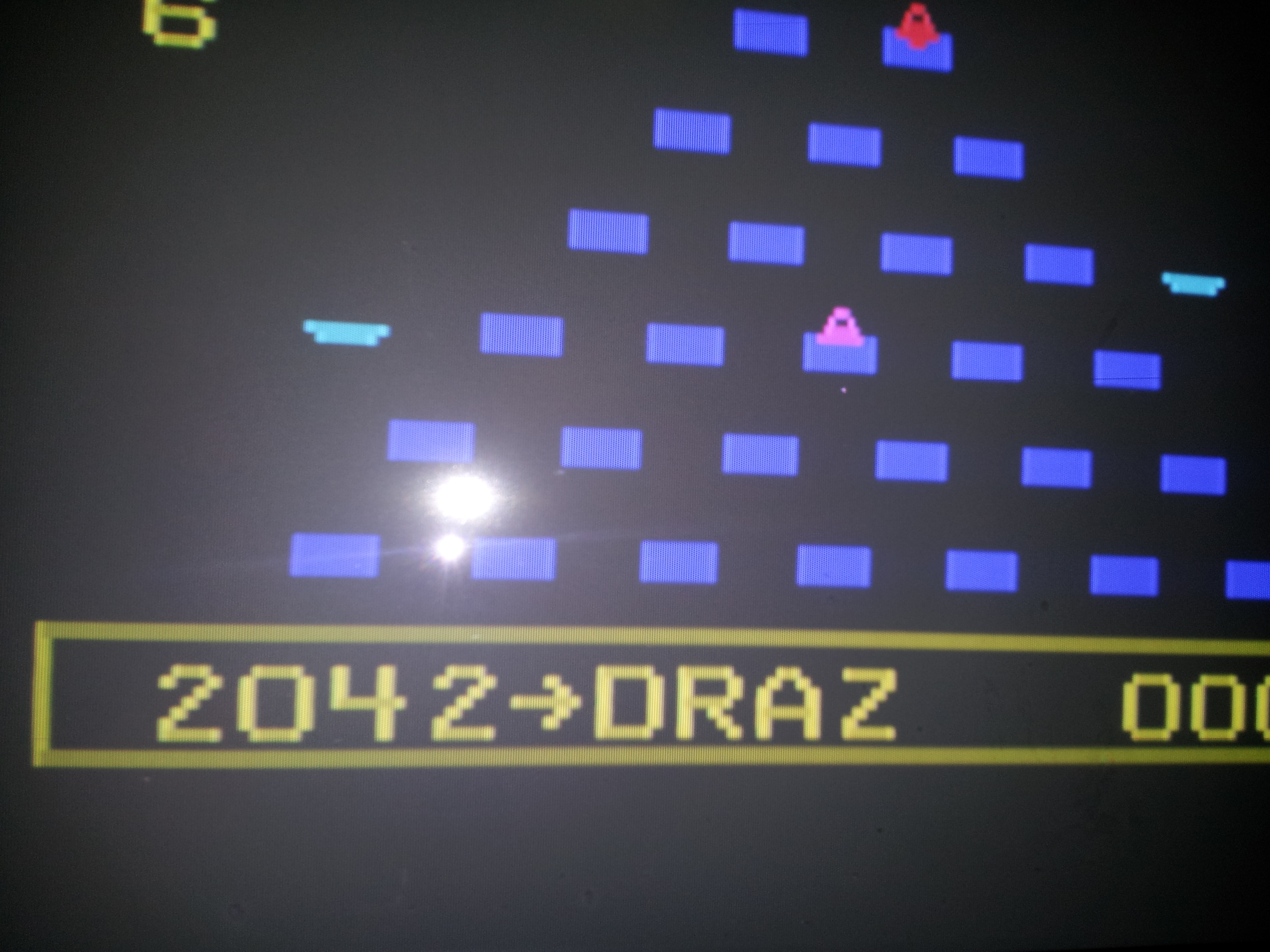 Q*bert 2,042 points