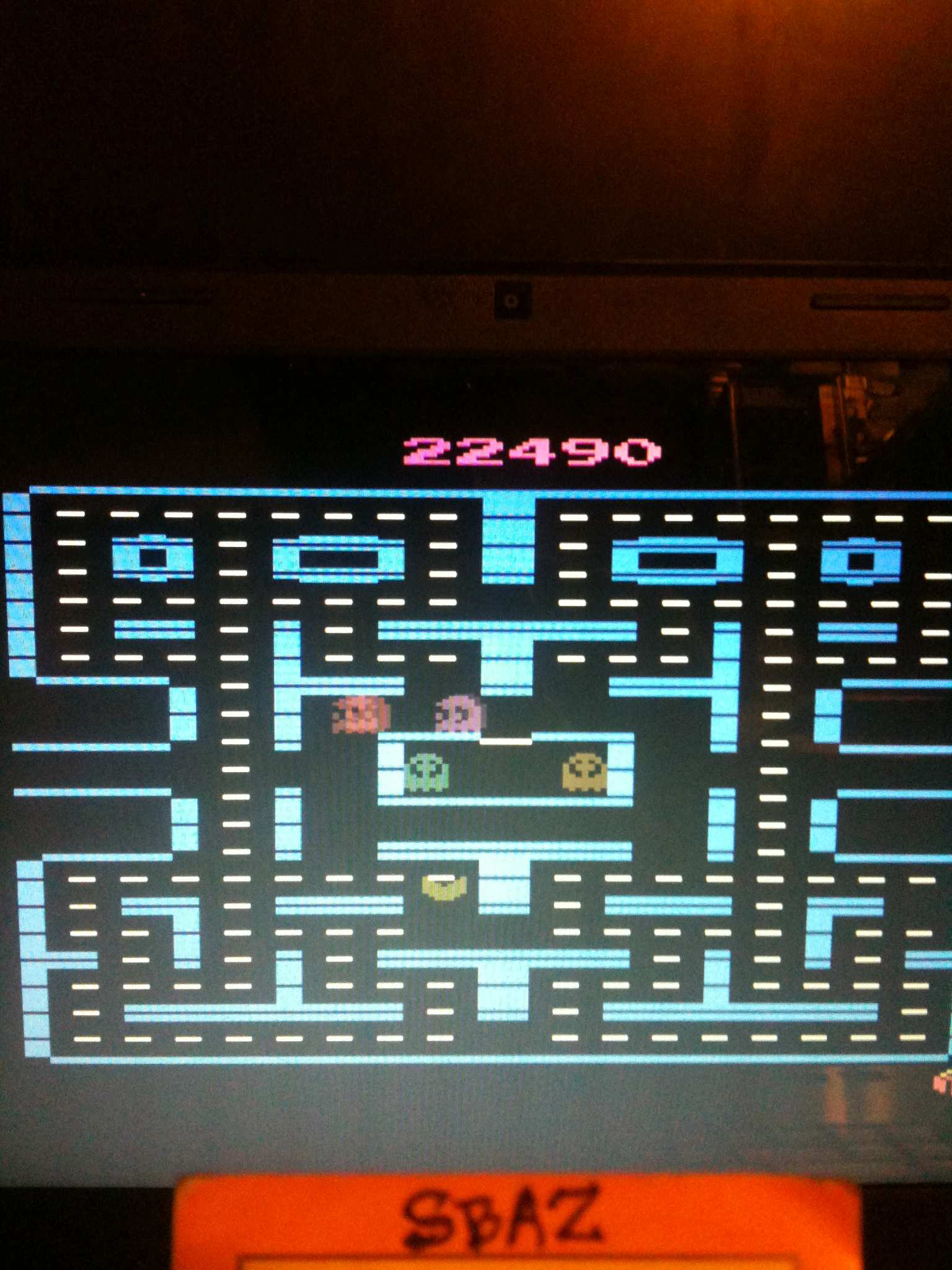 Pac-Man 4K 22,490 points