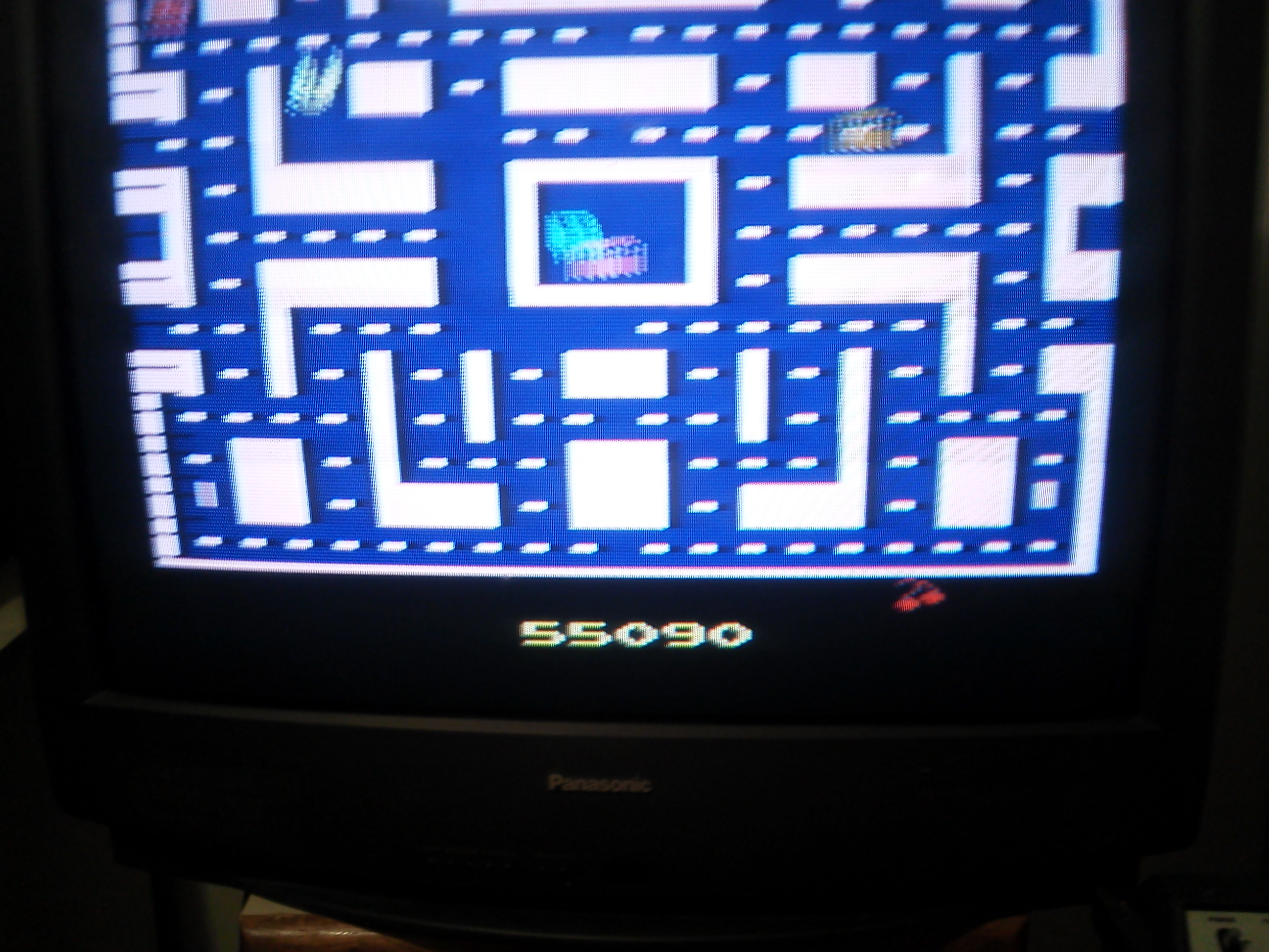 jfetzer: Ms. Pac-Man (Atari 2600) 55,090 points on 2014-03-29 06:49:08
