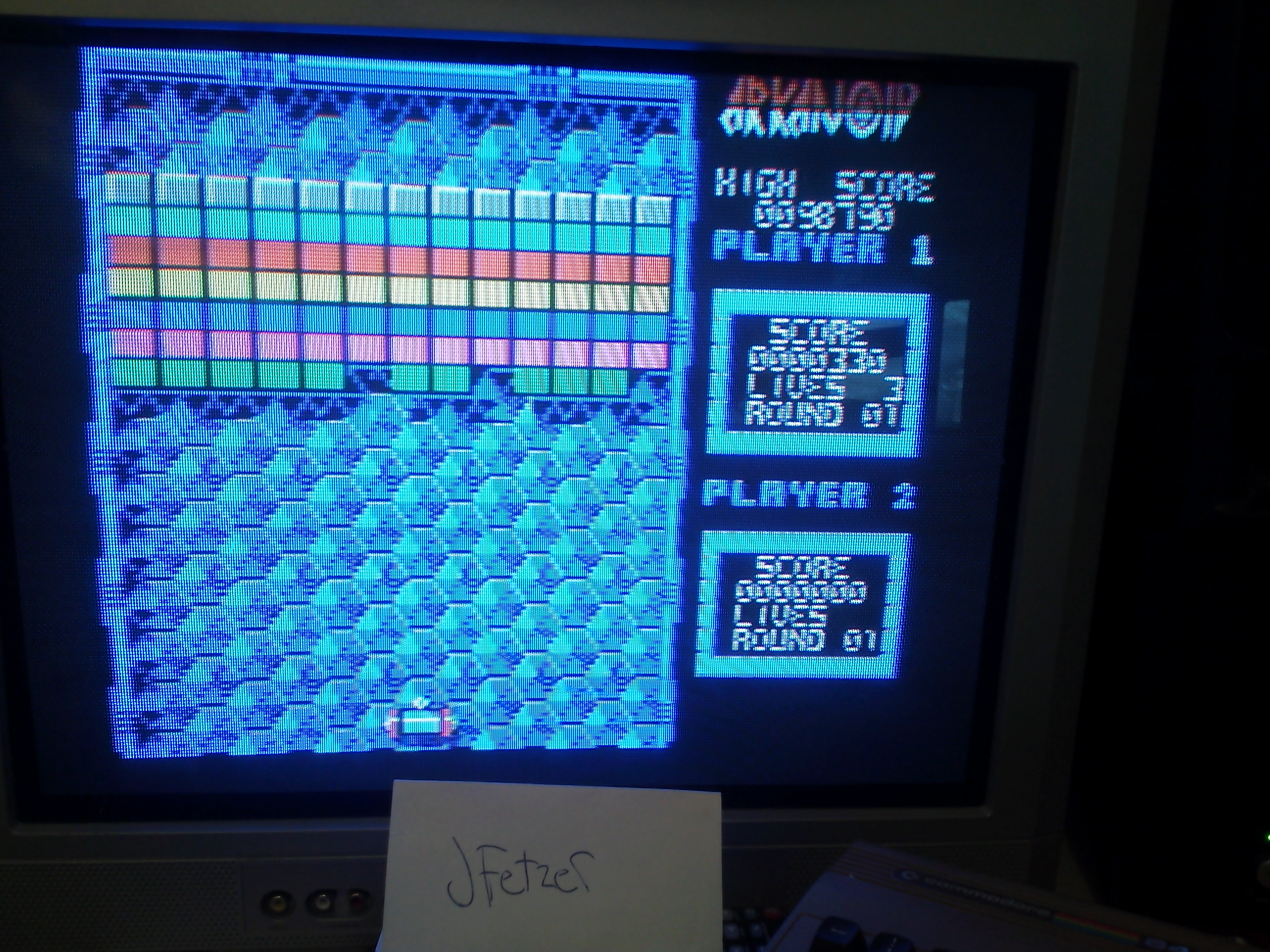 jfetzer: Arkanoid (Commodore 64) 98,790 points on 2014-03-29 17:50:40