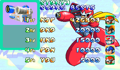 FlyingBatWolf15: Mega Man 2: The Power Fighters (Arcade Emulated / M.A.M.E.) 426,803 points on 2014-03-30 14:30:25