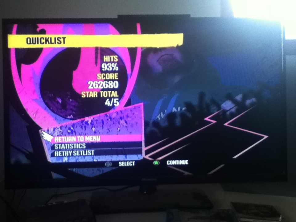 DJ Hero: Bittersweet Symphony vs. Rock The Bells [Expert] 262,680 points
