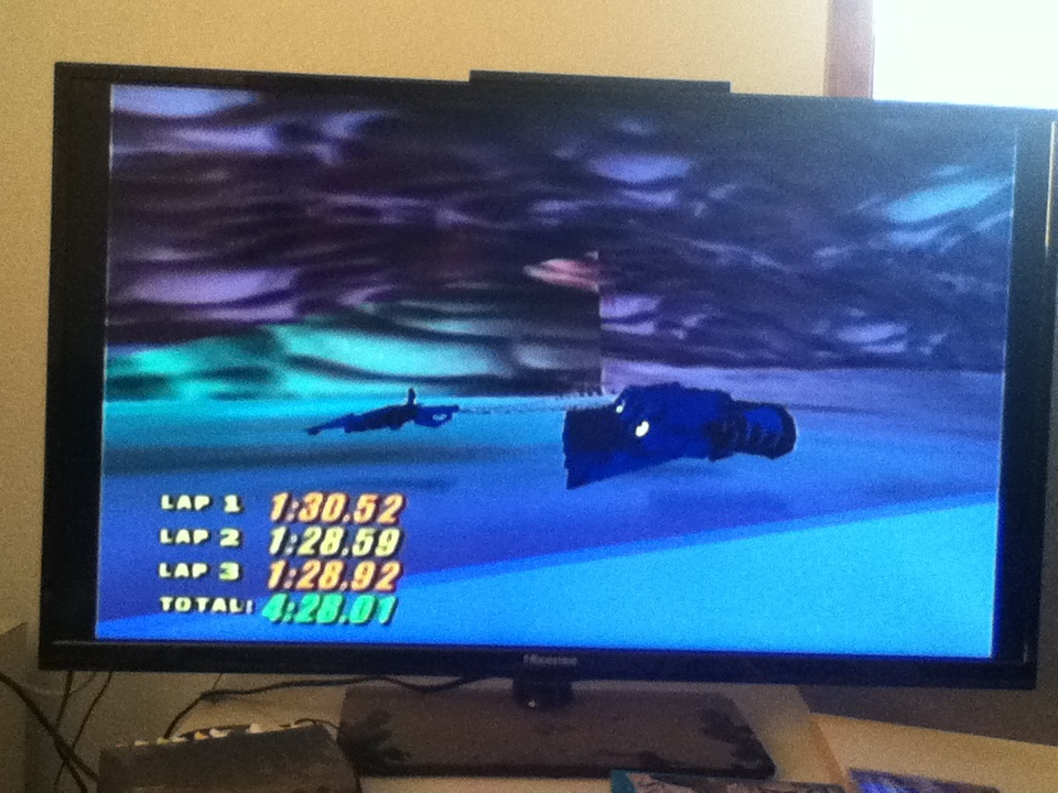 Star Wars Episode I Racer: Aquilaris Classic time of 0:04:28.01