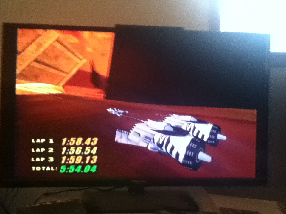 Star Wars Episode I Racer: Spice Mine Run time of 0:05:54.04