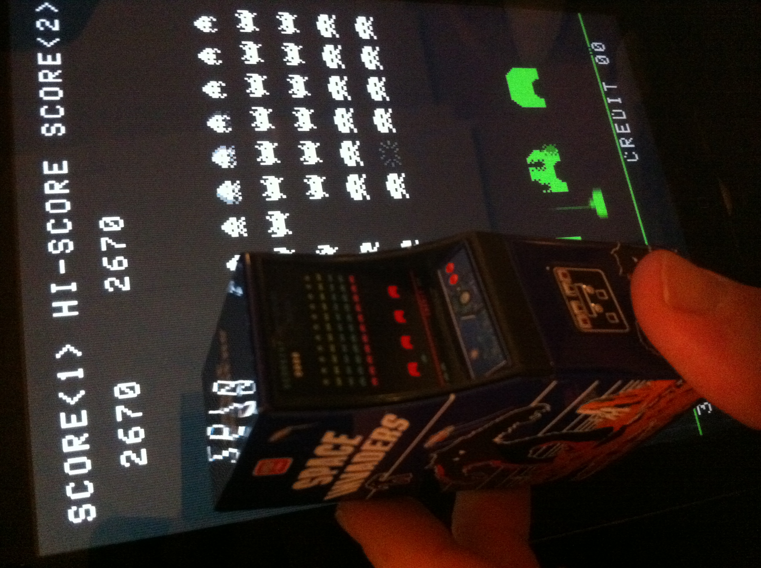 Space Invaders 2,670 points